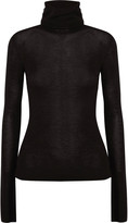 Dion Lee Merino wool-blend knitted turtleneck top