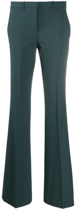 Theory High-Rise Flared Tailored Trousers