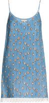 Leka Floral-Print Mini Dress