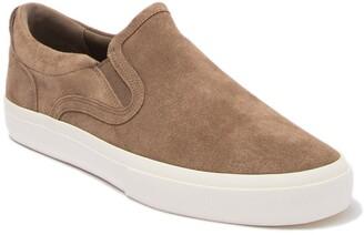 Vince Fairfax Suede Slip-On Sneaker