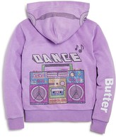 Butter Shoes Girls' Dance Boom Box Hoodie - Sizes 4-6