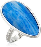 """Kenneth Cole New York True Blues"""" Semiprecious Faceted Stone Ring, Size 7"""
