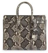 Saint Laurent Small Sac De Jour Python Tote