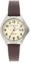 Coleman Women's COL7104 Casual Brown Band Watch
