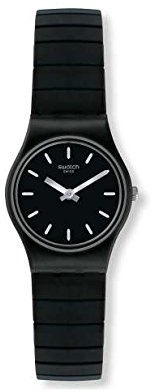 Swatch Women's Analogue Quartz Watch with Stainless Steel Strap LB183A