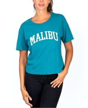 Rebellious One Juniors' Malibu Graphic T-Shirt