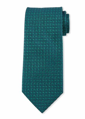 Charvet Men's Mini Medallion Silk Tie