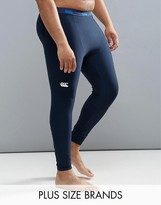 Canterbury Of New Zealand Canterbury Plus Thermoreg Baselayer Tights In Navy E512740-769