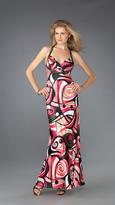 La Femme Sexy Bejeweled Sweetheart Sheath Dress 13364