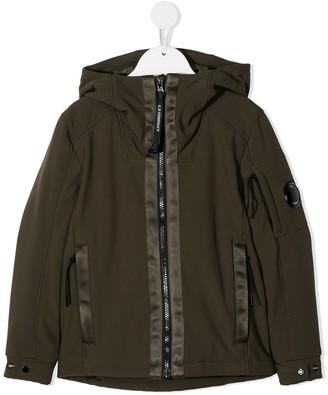 C.P. Company Kids Goggle Sleeve Hooded Jacket