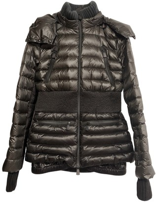 Moncler Grenoble Green Coat for Women