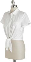 Tatyana Little White Tie Top