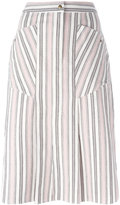 Isabel Marant striped skirt - women - Cotton - 42