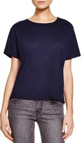 Nation Ltd. Lace-Up Back Tee - 100% Bloomingdale's Exclusive