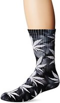 HUF Men's Tiedye Plantlife Crew Sock