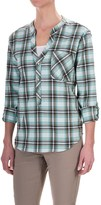 Mountain Hardwear Stretchston Shirt - Button Neck, Long Sleeve (For Women)