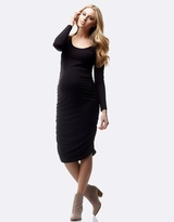 Soon Celina Long Sleeve Maternity Dress