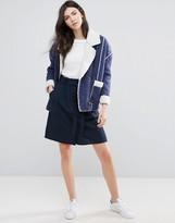 Vila Belted Pencil Skirt