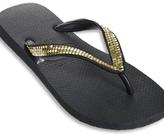 Havaianas - Gold Metal Mesh Black Flip-Flop