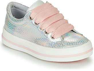 Catimini CASETTE girls's Shoes (Trainers) in Silver
