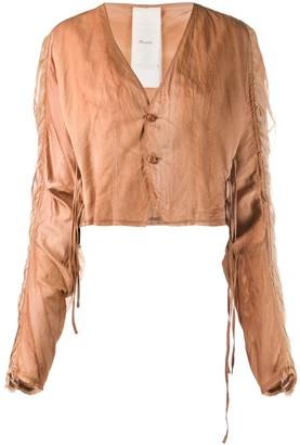 Phaedo Studios Smocked Sleeve Jacket