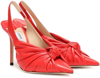 Jimmy Choo Annabell 100 leather pumps