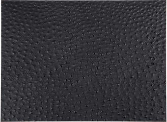 A By Amara A by Amara - Emu Effect Recycled Leather Placemat - Coal