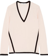 Lanvin Two-tone Wool Sweater - Pastel pink