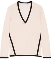 Lanvin Two-tone Wool Sweater - Pastel pink