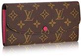 Louis Vuitton Monogram Canvas Emilie Wallet M41943