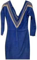 Jitrois Blue Cotton Dress for Women