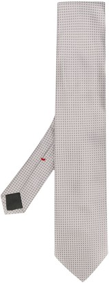 Dell'oglio Geometric Silk Tie