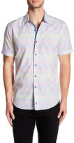 Robert Graham Mid Hills Classic Fit Short Sleeve Shirt