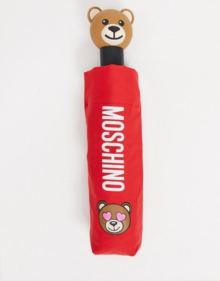 Moschino umbrella in red
