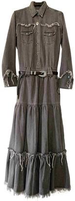 Alanui Grey Cotton Dresses