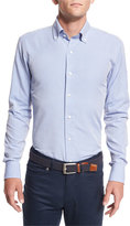 Peter Millar Collection Perfect Pinpoint Dress Shirt, Blue Ceillo