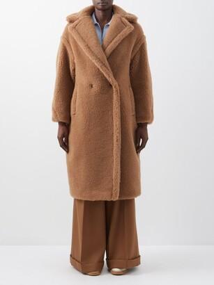 Max Mara Teddy Coat - Womens - Camel