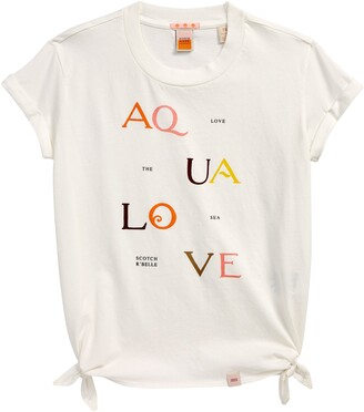Scotch R'Belle Kids' Organic Cotton Graphic Tee