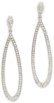 Kenneth Jay Lane Open Teardrop Earrings