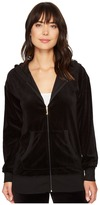 Juicy Couture Beachwood Velour Jacket Women's Coat