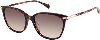 Rag & Bone Rectangle Acetate Sunglasses