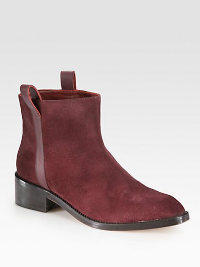 Surface to Air Kim Suede & Leather Ankle Boots