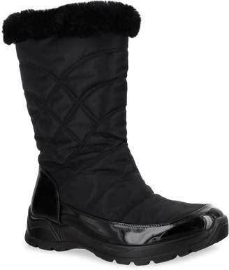 Easy Street Shoes Easy Dry Cuddle Women's Waterproof Boots