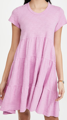 Wilt Short Sleeve Trapeze Dress