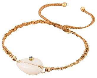 Tai Handmade Bracelet with Shell and Stone Accent