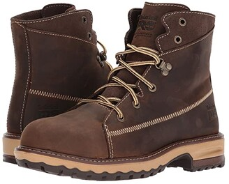 Timberland Hightower 6 Alloy Safety Toe (Kaffe Full Grain Leather) Women's Work Lace-up Boots