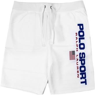 Ralph Lauren White Cotton Shorts