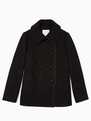 Kate Spade Out West Scallop Peacoat