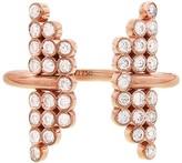 Yannis Sergakis Adornments Charnieres Open Diamond Ring - Rose Gold