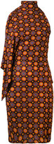 Givenchy psychedelic print dress - women - Silk/Acetate/Viscose - 36